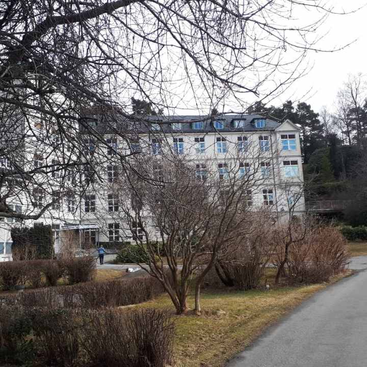 Hagevik kysthospital i april 2018